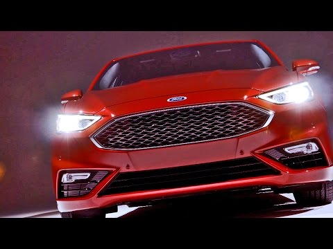 ► 2017 Ford Fusion V6 Sport - Footage