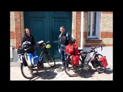 Cycling Europe - Part 1: Departure from Paris Gare de Lyon