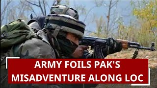 Indian Army crushes Pakistan Border Action Team39s infiltration attempt