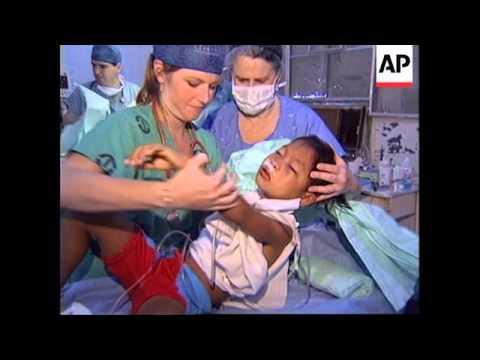 PHILIPPINES: MANILA: OPERATION RAINBOW TO HELP FILIPINO CHILDREN