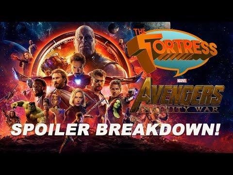 Avengers Infinity War Movie Breakdown + Post Credits Scene (Spoilers)| The Fortress