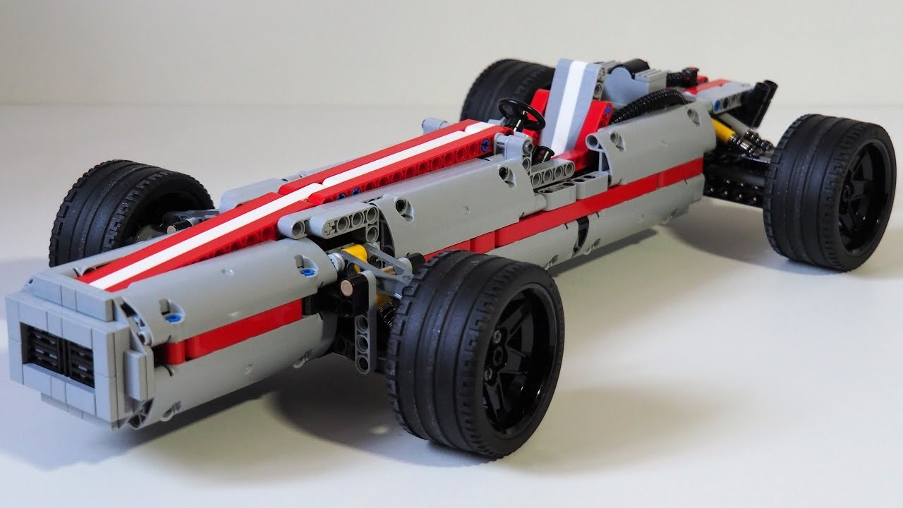 lego technic old race car youtube. Black Bedroom Furniture Sets. Home Design Ideas