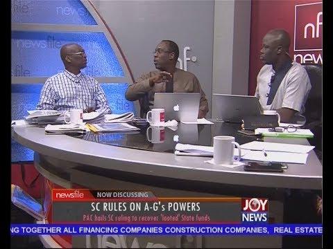 Sophia Akuffo's Vetting - Newsfile on JoyNews (17-6-17)