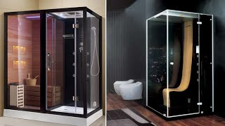 Stylish Shower Box with lights and LED for modern Bathroom designs