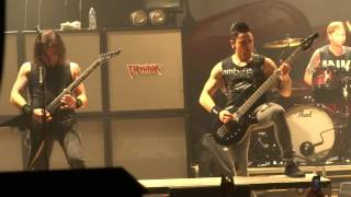 BULLET FOR MY VALENTINE - Scream Aim Fire LIVE @ HOB Myrtle Beach SC 10/24/2013