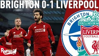 Salah Shoots Down the Seagulls! | Brighton v Liverpool 0-1 | Chris' Match Reaction LIVE