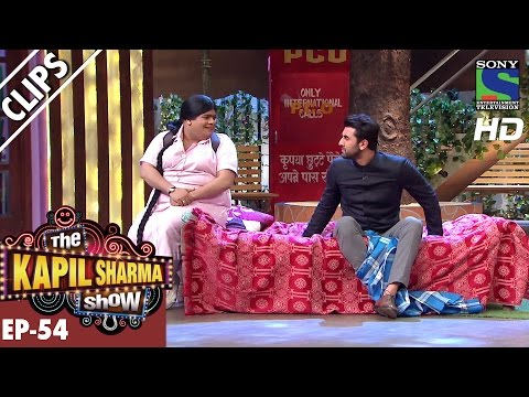 Bumper awakes Ranbir from Deep Sleep -The Kapil Sharma Show-Ep.54-23rd Oct 2016