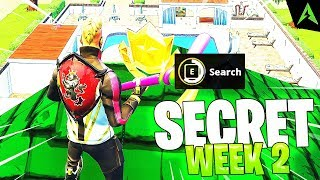 THE ROOF IS * SECRET LOCATION * FOR WEEK 2 IN FORTNITE!