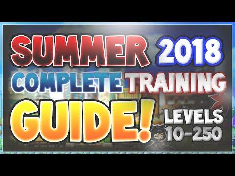 MapleStory - (2018) Complete Training Guide (ARK UPDATE)