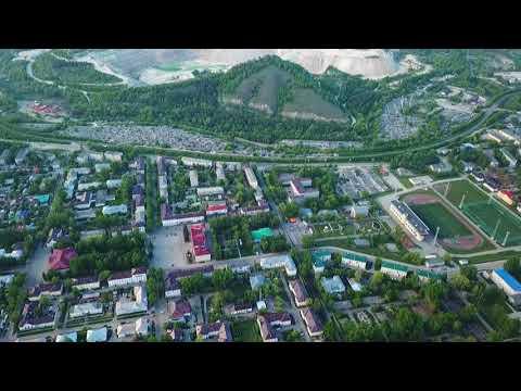 Весенний Жигулевск с высоты 19.052018