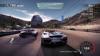NEED FOR SPEED HOT PURSUIT/Lamborghini Reventon Roadster vs Pagani Zonda Cinque