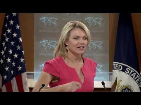 WATCH: Heather Nauert State Department Press Briefing On North Korea & China, Donald Trump, Russia