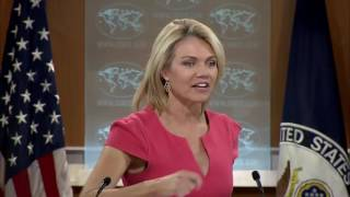 WATCH: Heather Nauert State Department Press Briefing On North Korea & China, Donald Trump, Russia