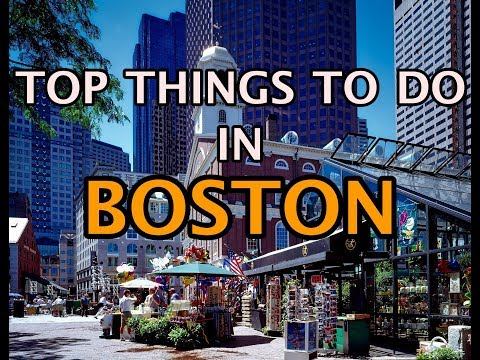 Top Things To Do in Boston, Massachusetts 4K