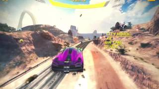 Asphalt 8  Airborne Shortest and Fastest Route+3 Shortcuts in Nevada!!!!