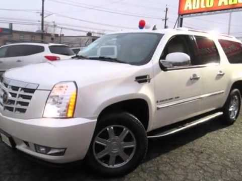 2007 cadillac escalade suv new jersey state auto auction jersey city nj youtube. Black Bedroom Furniture Sets. Home Design Ideas