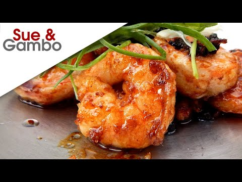 Chinese Shrimp with Black Bean Sauce Recipe