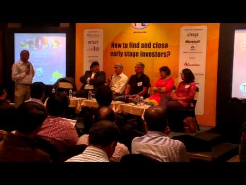 TiE Networking Event : How to find and close early stage investors?