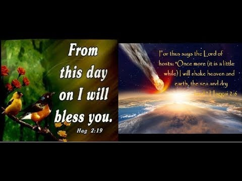 From THIS DAY I will BLESS YOU!!! DECEMBER 11-13, 2017... KISLEV 23-24, 5777... 923/924