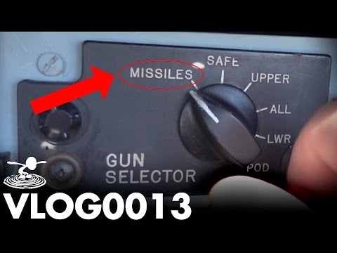 INSIDE A FIGHTER JET – FLIPPED ALL THE SWITCHES! | VLOG0013