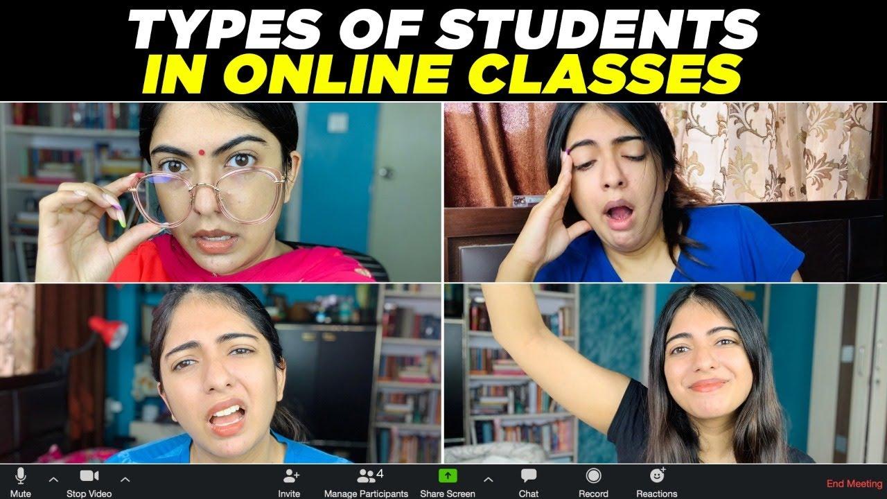 Download Types of Students in Online Classes   Nakhrebaaz