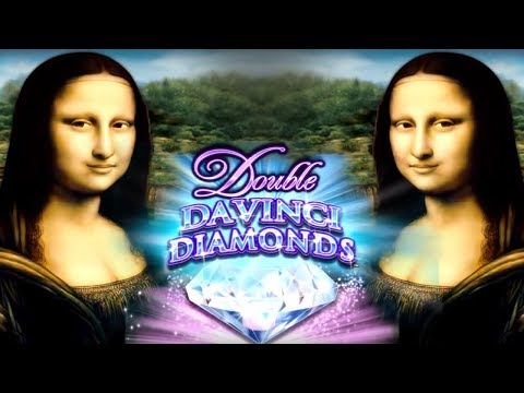 Double Davinci Diamonds Slot - NICE BONUS SESSION!