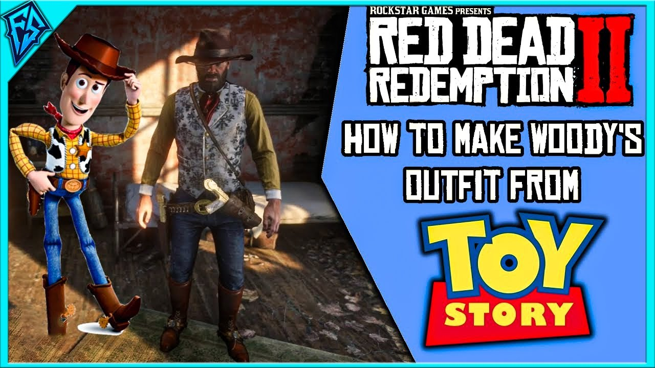 Red Dead Redemption 2 \u2013 How to Make Woody\u0027s Outfit from Toy Story