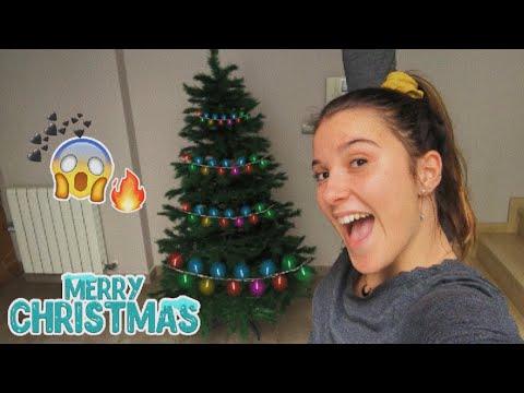Decorando la casa y montando el árbol de Navidad  VLOGMAS 3
