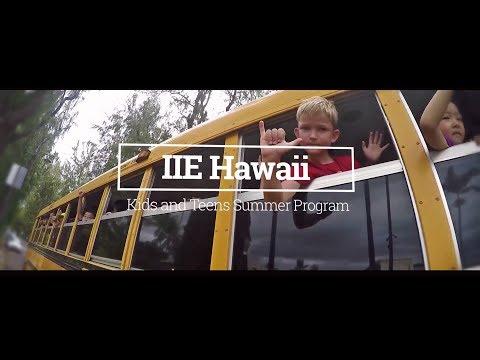 IIE Kids & Teens: Best Junior Summer School in Hawaii!
