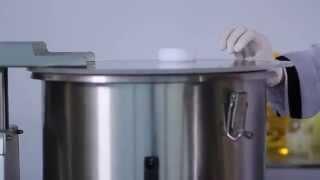 Make hummus with the YAZICILAR L45IV Cutter