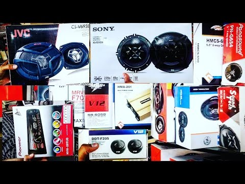 CAR AUDIO SYSTEM IN CHEAP  BEST PLACE TO BUY  WOOFERS, BASS TUBES, AMPS  CAR ACCESSORIES  DELHI