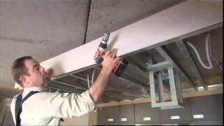 Placer un faux-plafond au-dessus de la cuisine