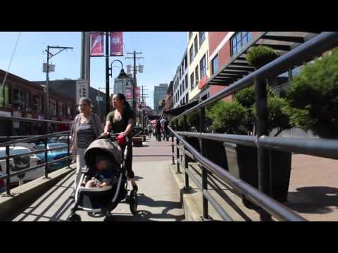 Yaletown Vancouver BC CANADA - Life In Downtown - Historical Trendy & Laid-back Area