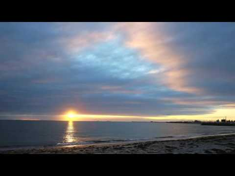 South beach sunset time-lapse (Fremantle, Western Australia)