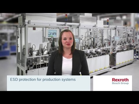 ESD protection for production system