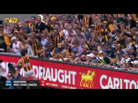 Top 10 goals from Hawthorn Three-Peat