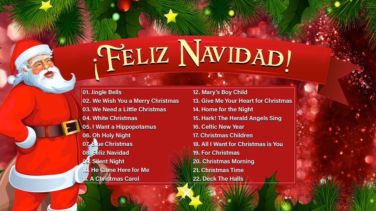 Canciones De Navidad Música Navideña Villancicos De Navidad Clásicos Feliz Navidad 2020 Youtube