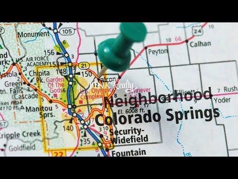 Colorado Springs CO City Video   Pink Realty