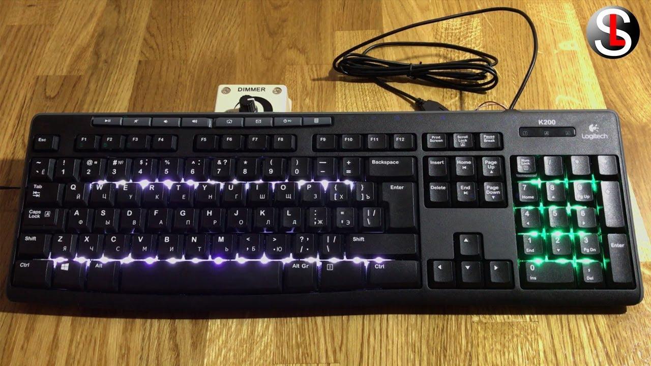 его счету как самому сделать подсветку клавиатуры фотоотчет том