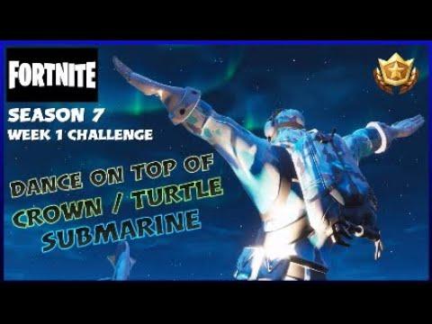 Fortnite Battle Royale Season 7 Week 1 Dance On Top Of