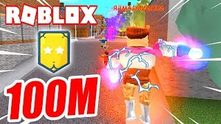 100 MILLONES de PODER TOTAL!!! 🔥 Roblox Super Power Training Simulator