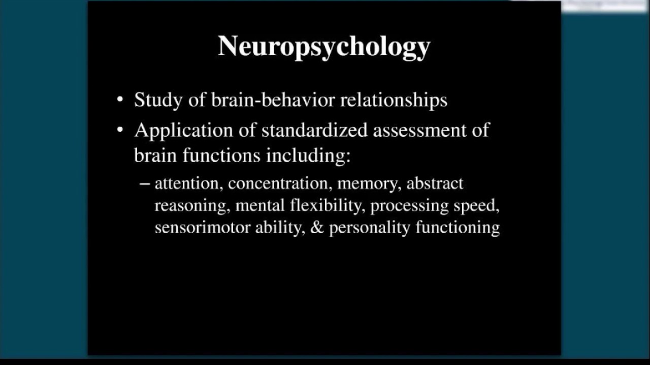 Forensic Neuropsychology Essential Information To Know Youtube