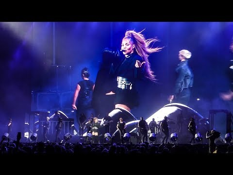 Janet Jackson - Rhythm Nation Live @ Panorama NYC Music Festival, New York (2018)