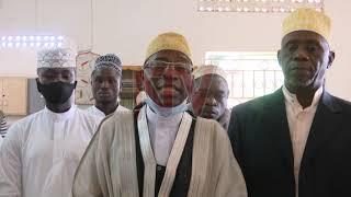 Sheikh Kasule Ndirangwa asaalidde mu Ndeeba, e Kibuli talabiseeyo