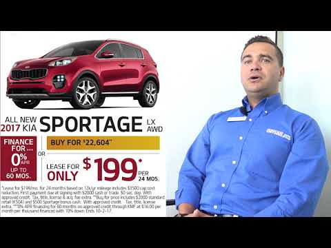 Smail Kia Lease and Finance Specials (Sept 2017)