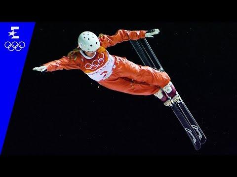 Freestyle Skiing   Ladies' Aerials Highlights   Pyeongchang 2018   Eurosport