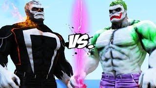 Hulk - Ghost Rider VS Hulk - Joker
