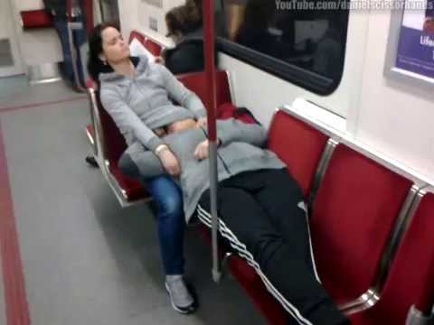 Public sex on subway