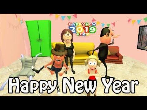 Happy New Year | Comedy Cartoon | Silent Jokes
