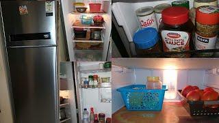 How I organized my fridge || Fridge organization ideas in tamil || Fridge organization video